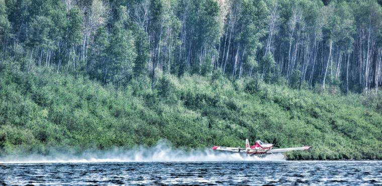 Wildfire - Hutch Lake, Alberta, Canada - 9