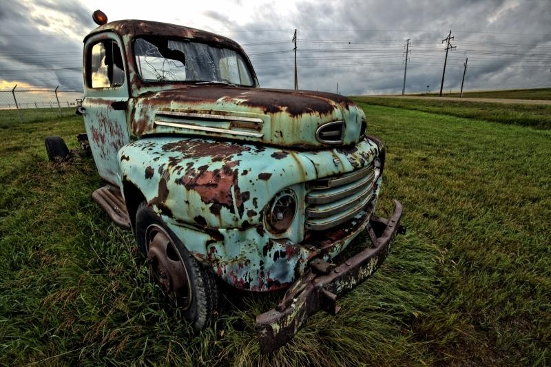 53 Ford - Drumheller, Alberta - Canada i