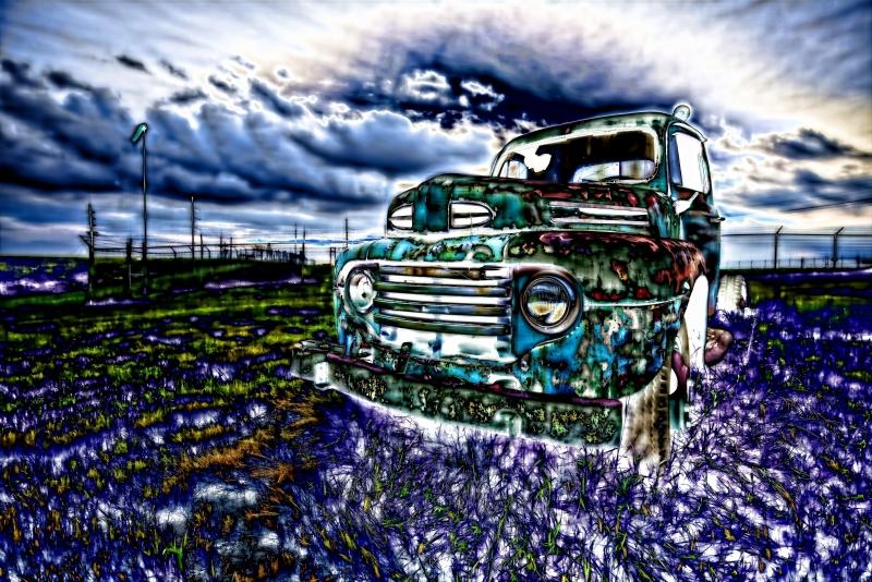 53 Ford - Drumheller, Alberta - Canada iv