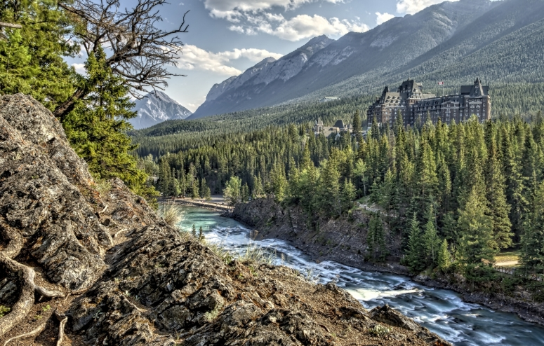 Banff Springs Hotel - Banff, Alberta - Canada