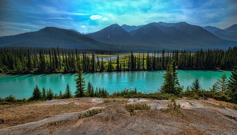 Johnson Canyon - Banff, Alberta - Canada i