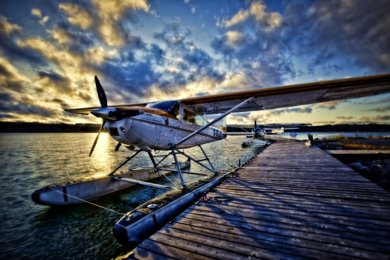 Float Plane - Yellowknife, NT Canada iii