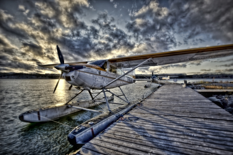 Float Plane - Yellowknife, NT Canada iv