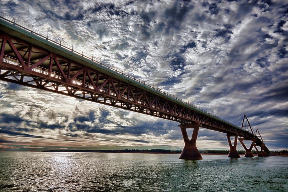 MacKenzie River Bridge - Fort Providence, NT - Canada ii
