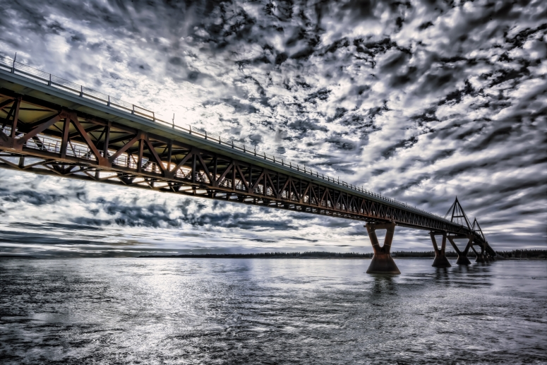 MacKenzie River Bridge - Fort Providence, NT - Canada iii