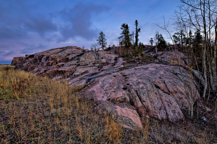 Rock Terrain - Yellowknife, NT - Canada i