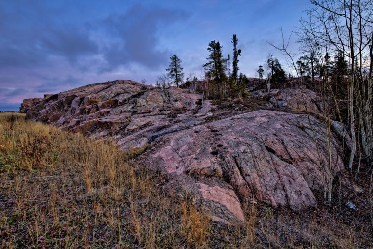 Rock Terrain - Yellowknife, NT - Canada i