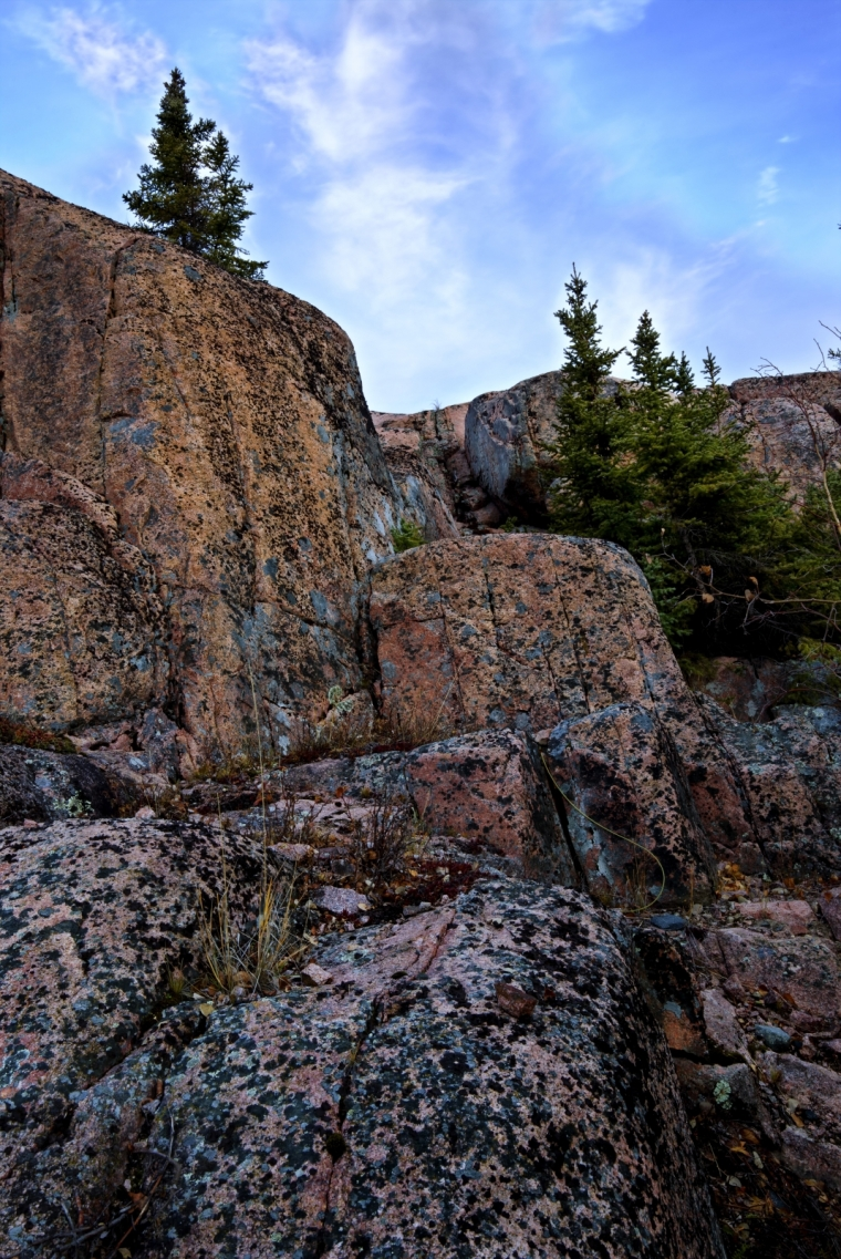 Rock Terrain - Yellowknife, NT - Canada ii