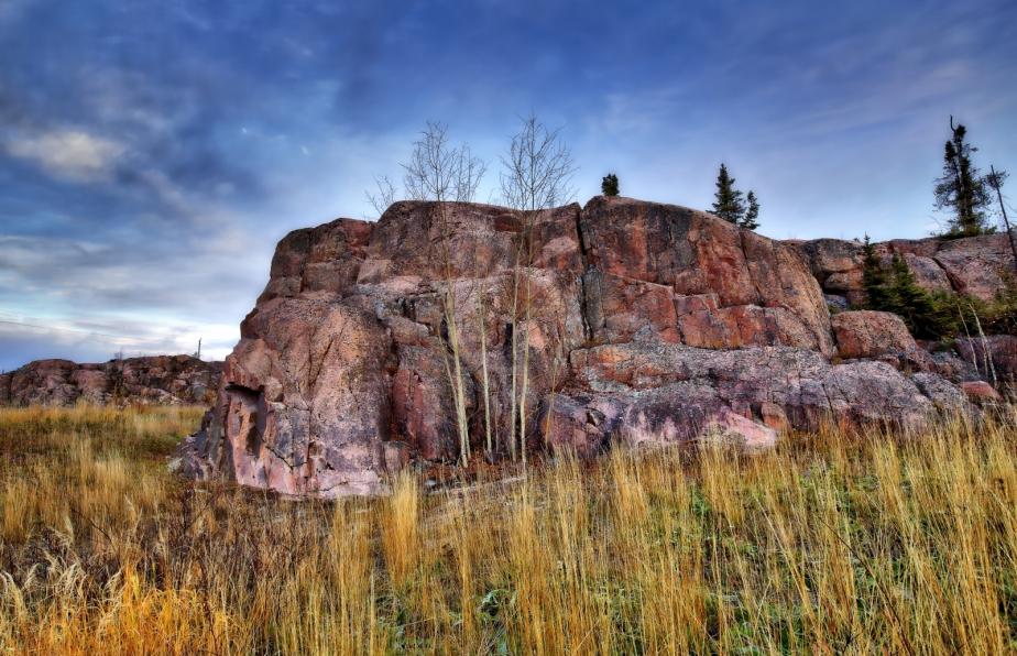 Rock Terrain - Yellowknife, NT - Canada iv
