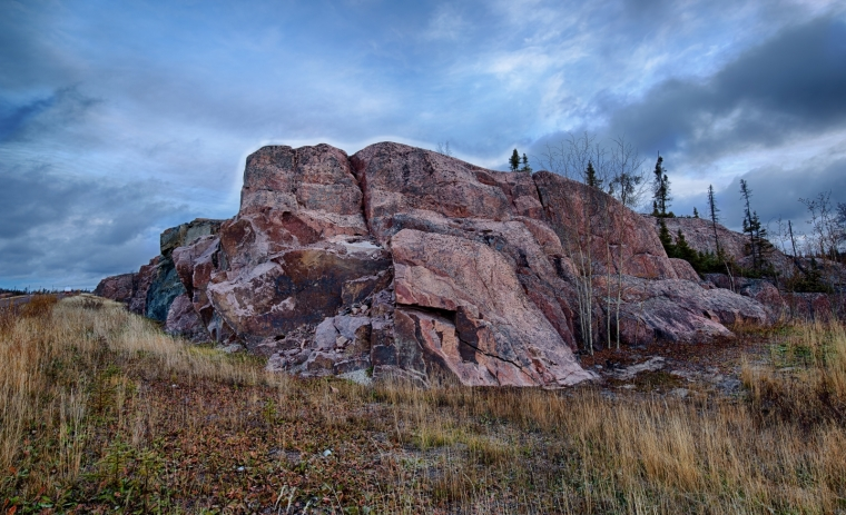 Rock Terrain - Yellowknife, NT - Canada v