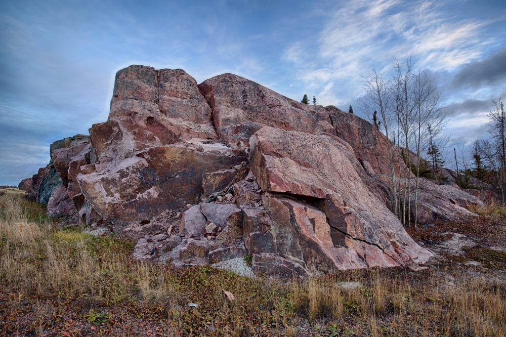 Rock Terrain - Yellowknife, NT - Canada vi