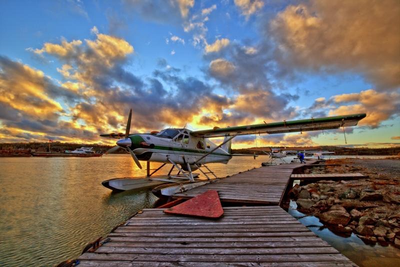 Yellowknife Float Planes - The Narrows, Yellowknife WW Photo Walk - 3 Oct 2015