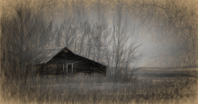 Homestead in Fall - Fairview, Alberta - Canada 3
