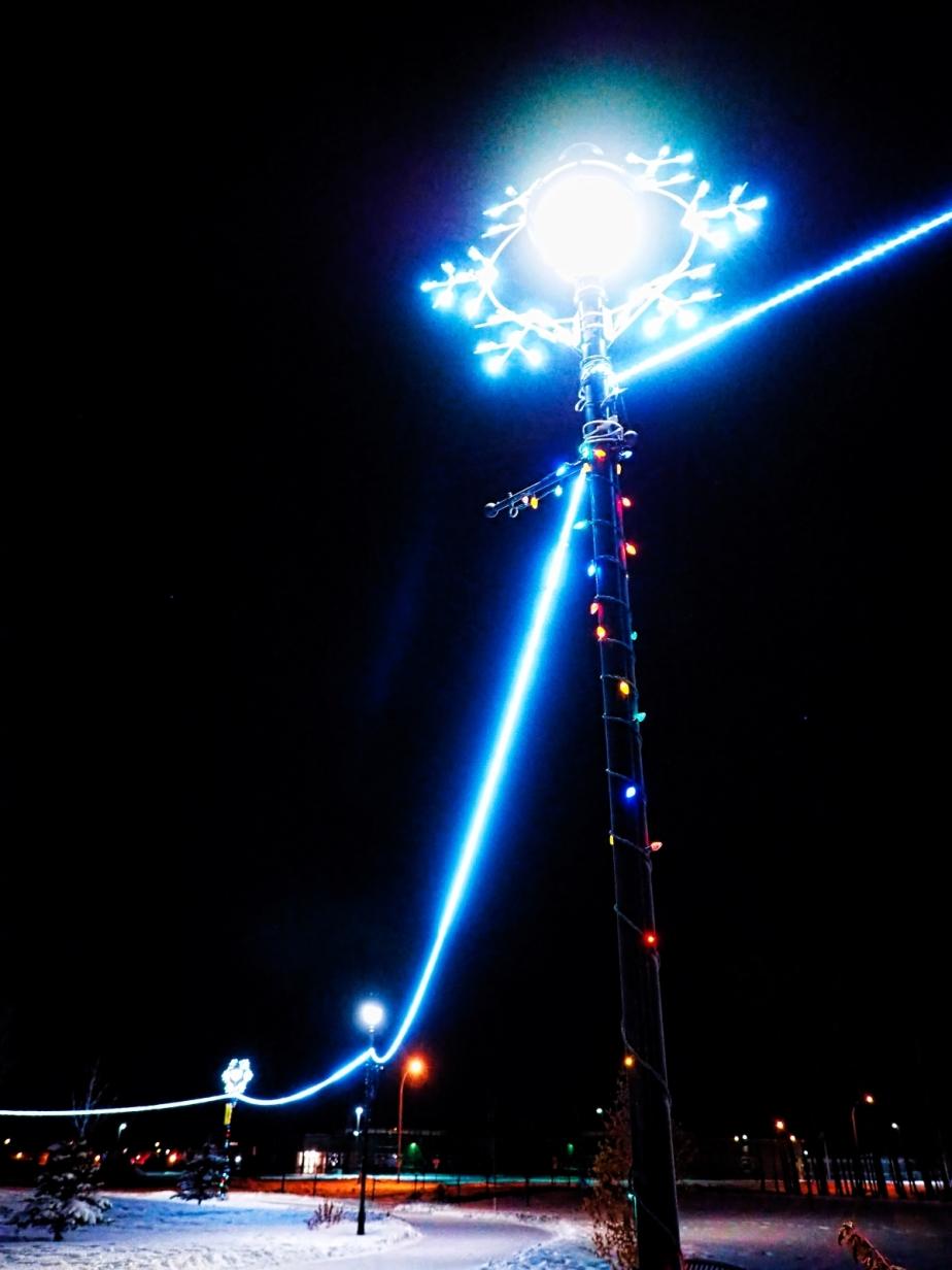Christmas Lights - Town Hall, High Level 1
