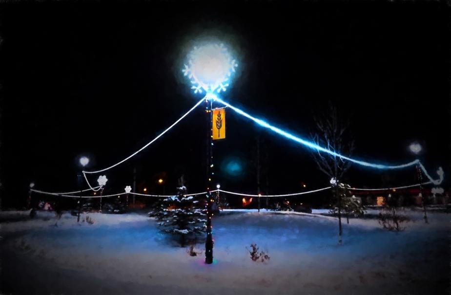 Christmas Lights - Town Hall, High Level 2