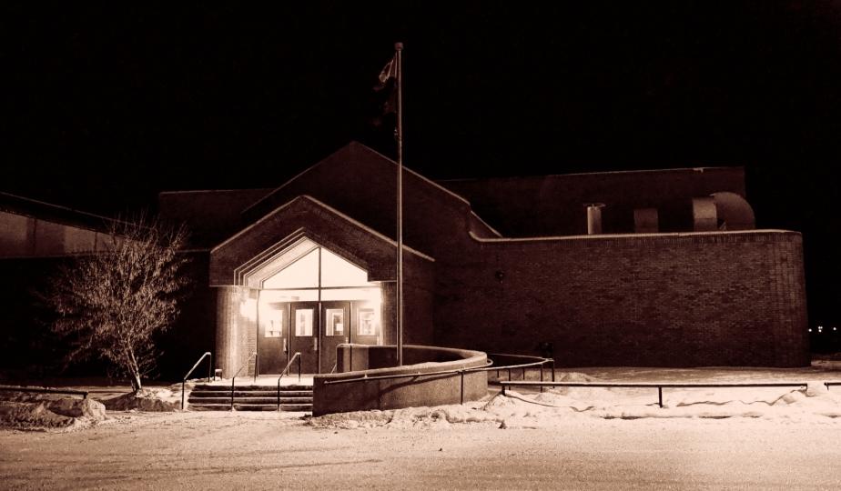 High Level Public School - Gym Entrance