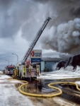Hotel Fire - High Level, Ab Canada