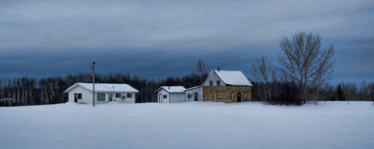 Buttertown Buildings - Fort Vermilion, Ab Canada