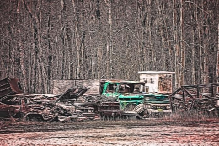 Rusting Relic - GMC - Nampa, Alberta 2