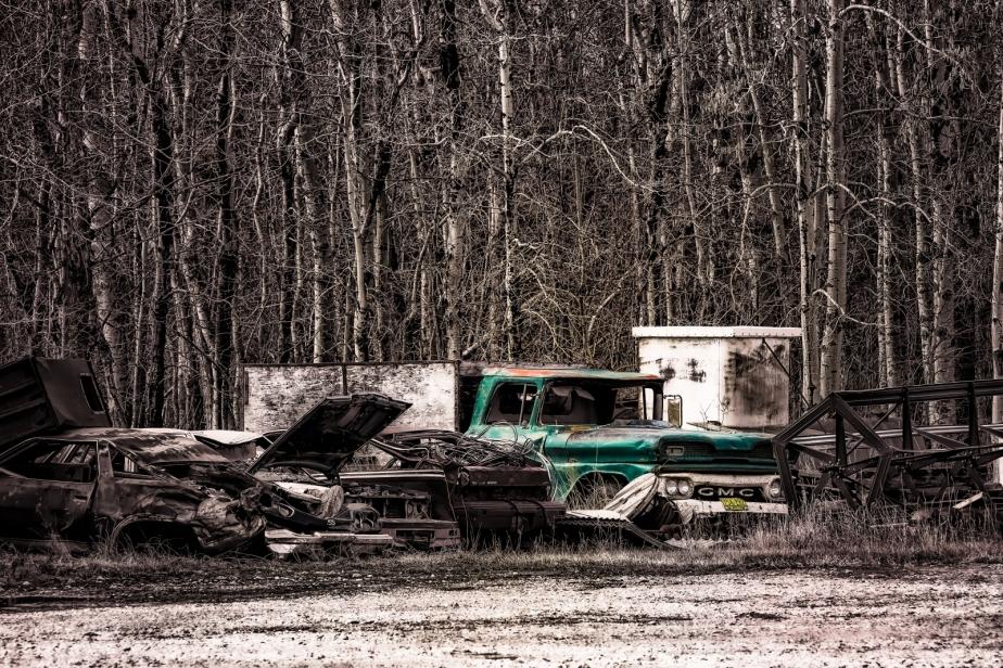 Rusting Relic - GMC - Nampa, Alberta