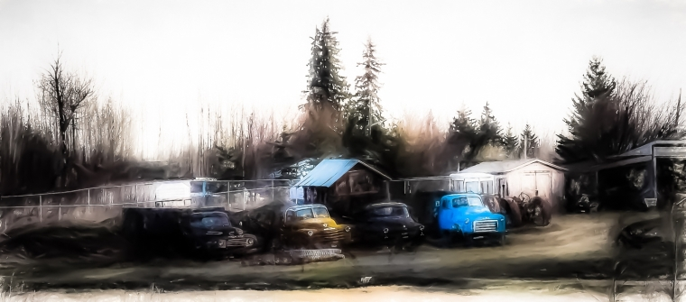 Rusting Relics - Greencourt, Alberta 1