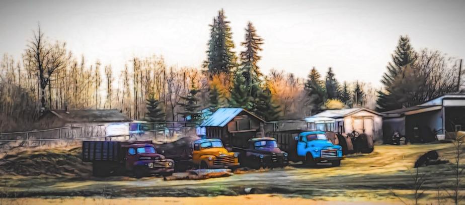 Rusting Relics - Greencourt, Alberta 2