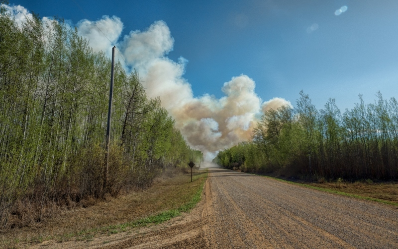 Wildfire - High Level, Ab - 4 May 2016 - 2