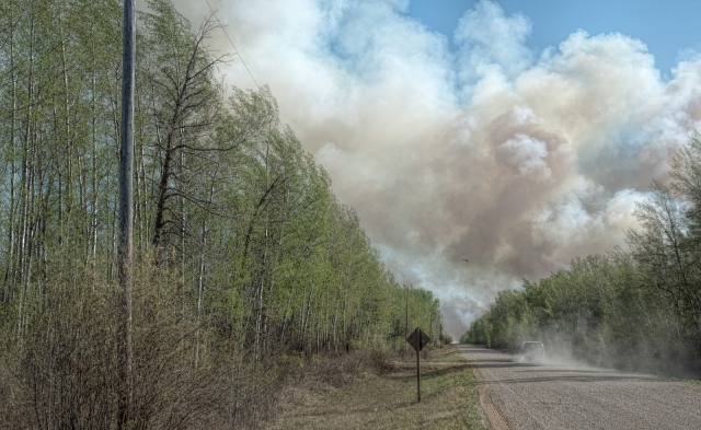 Wildfire - High Level, Ab - 4 May 2016 - 5