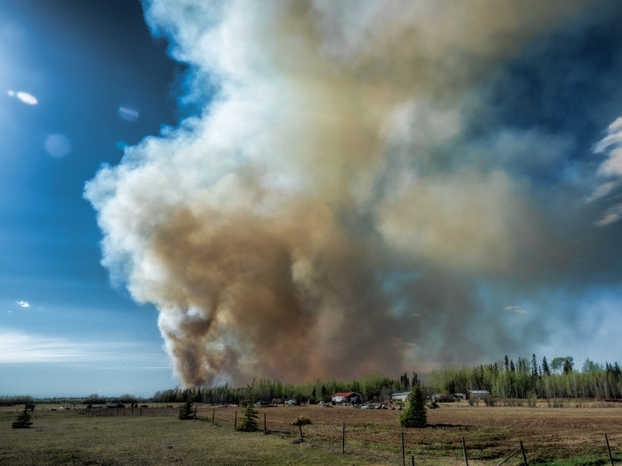 Wildfire - High Level, Ab - 4 May 2016 - 6