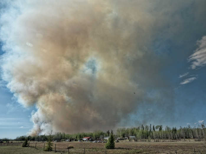 Wildfire - High Level, Ab - 4 May 2016 - 7