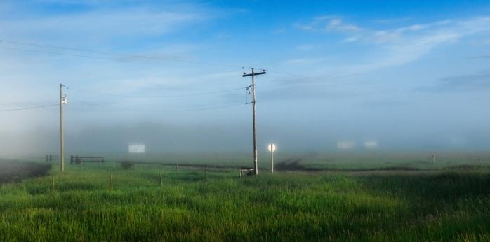 Morning Images - High Level, Alberta - Canada 1