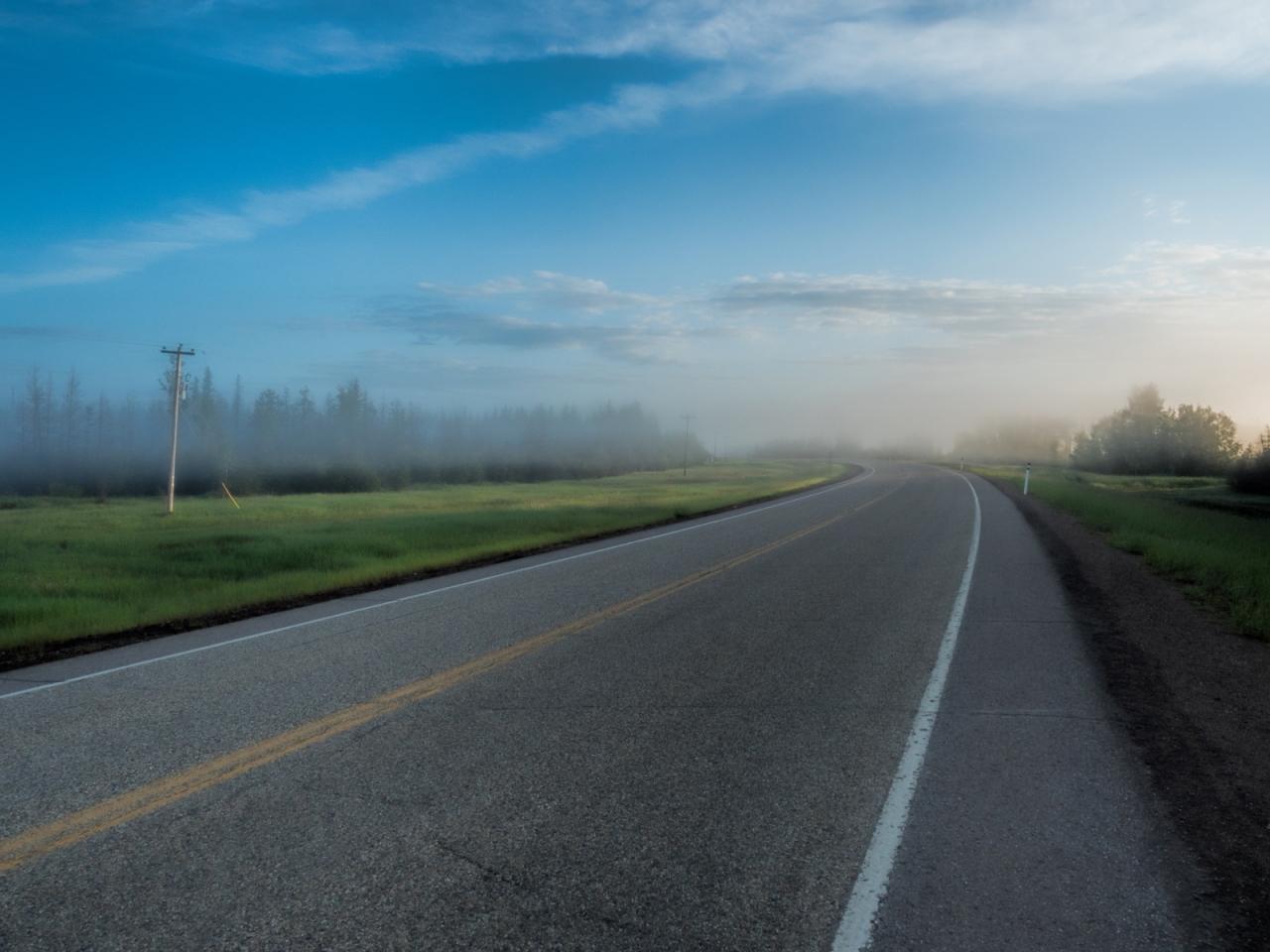 Morning Images - High Level, Alberta - Canada 10