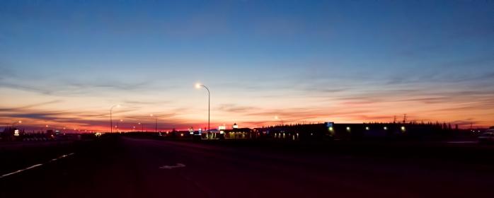Morning Images - High Level, Alberta - Canada 3