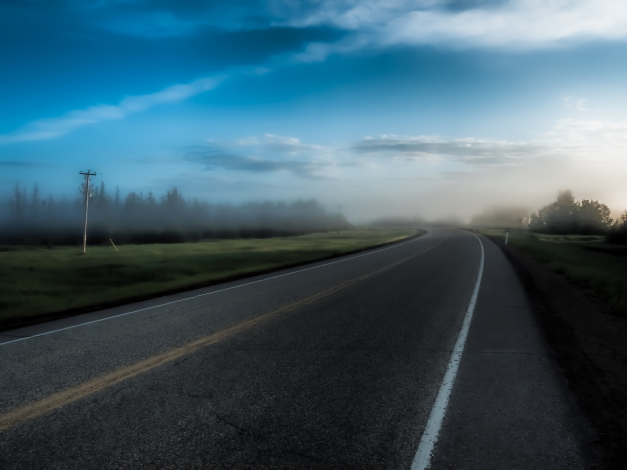 Morning Images - High Level, Alberta - Canada 4