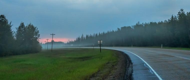 Morning Images - High Level, Alberta - Canada 6