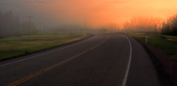 Morning Images - High Level, Alberta - Canada 7
