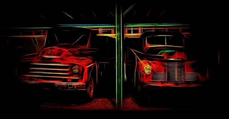 Grain Trucks - Rimbey, Alberta 1