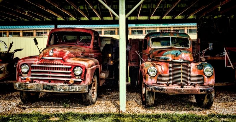 Grain Trucks - Rimbey, Alberta 3