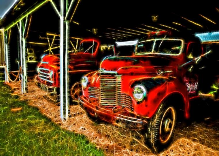 Grain Trucks - Rimbey, Alberta 4