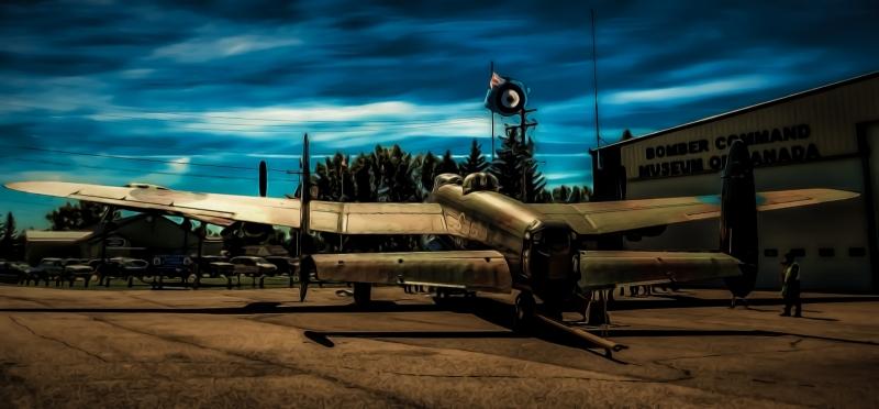 AVRO Lancaster - Nanton, Alberta 1