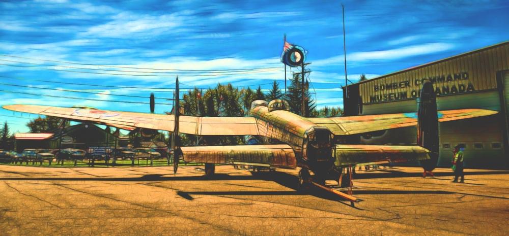 AVRO Lancaster - Nanton, Alberta 2