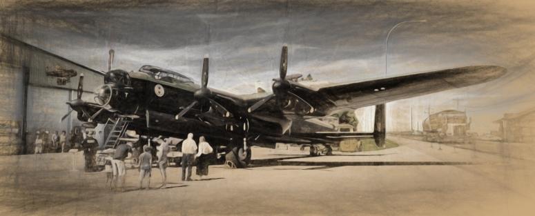 AVRO Lancaster - Nanton, Alberta 4