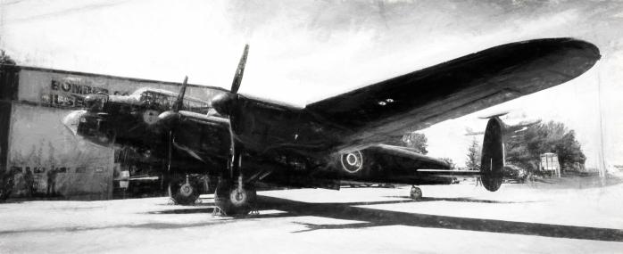 AVRO Lancaster - Nanton, Alberta 7