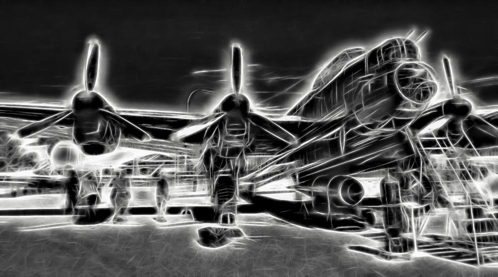 AVRO Lancaster - Nanton, Alberta 9