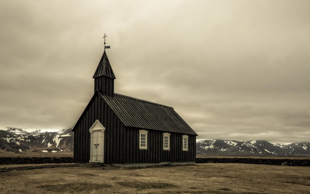 Black Church at Buðir, Iceland - 1