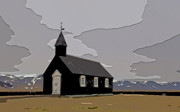 Black Church at Buðir, Iceland - 3