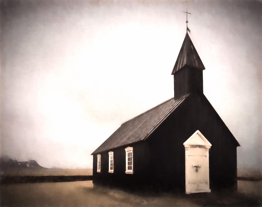 Black Church at Buðir, Iceland - 4