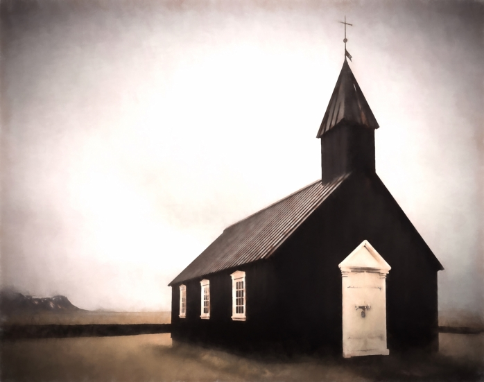 Black Church at Buðir, Iceland - 4