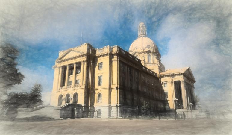 Alberta Legislature Building - Edmonton, Alberta Canada 3