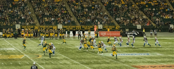 Eskimos vs Alouettes - Edmonton, Ab Canada 10